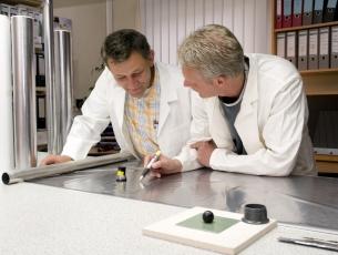 Folien für Werkstoffprüfung – foils for materials testing